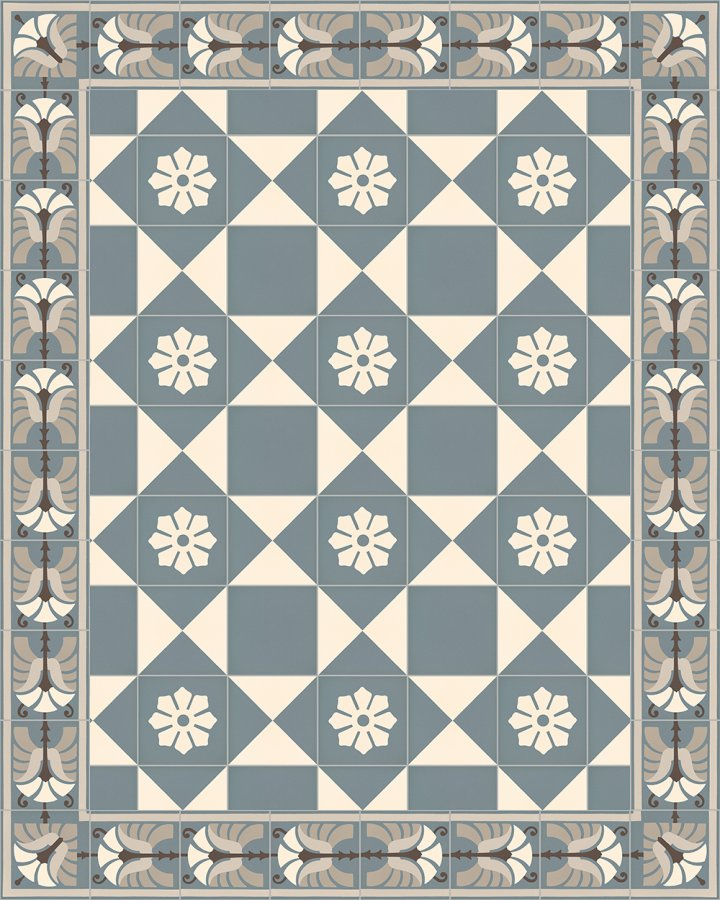 Floor tiles Floor Tiles multi-coloured Layouts and patterns SF 244 A a