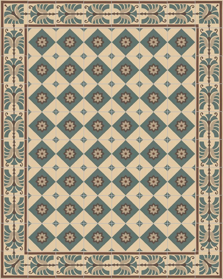 Floor tiles Floor Tiles multi-coloured Layouts and patterns SF 562 B e