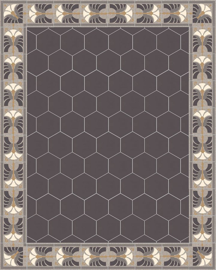 Carreaux pour sol Carreaux hexagonal Carreaux hexagonal SF 17.11