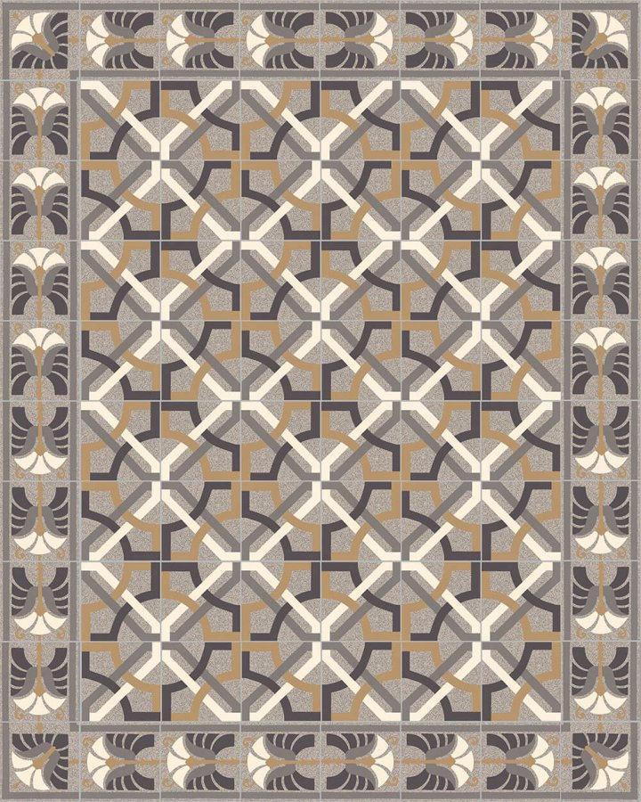 Floor tiles Floor Tiles multi-coloured Layouts and patterns SF 562 C e