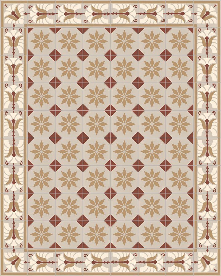 Floor tiles Floor Tiles multi-coloured Layouts and patterns SF 562 D e