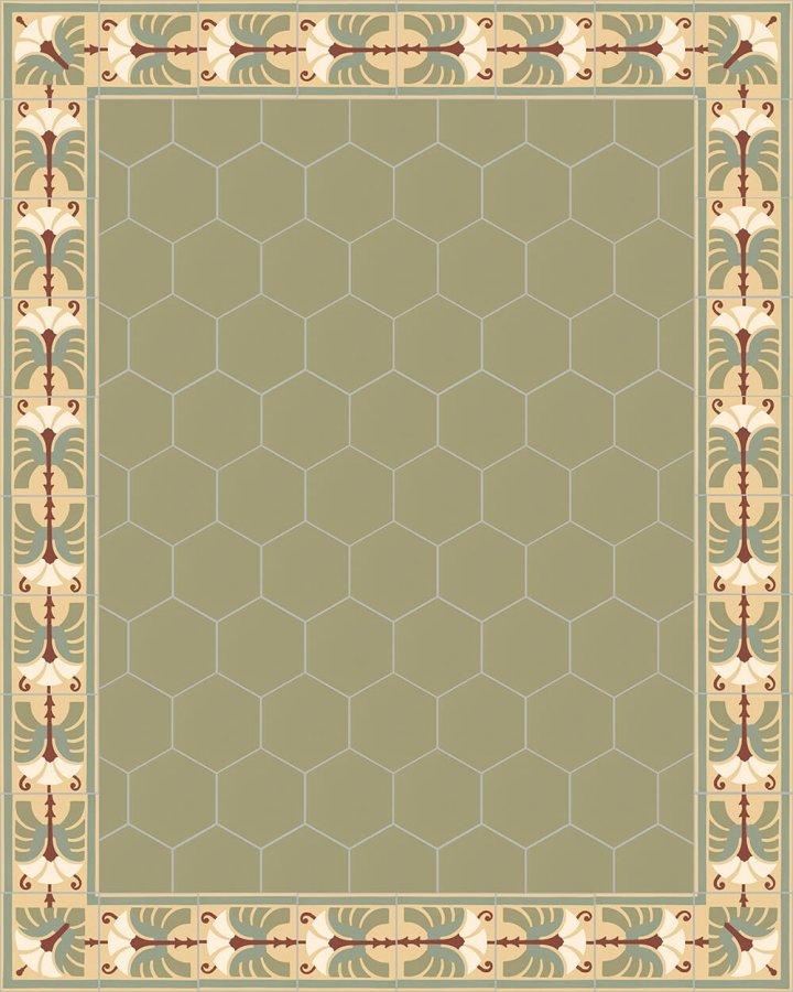 Floor tiles Stonware hexagona floor tiles hexagonal SF 17.21 S