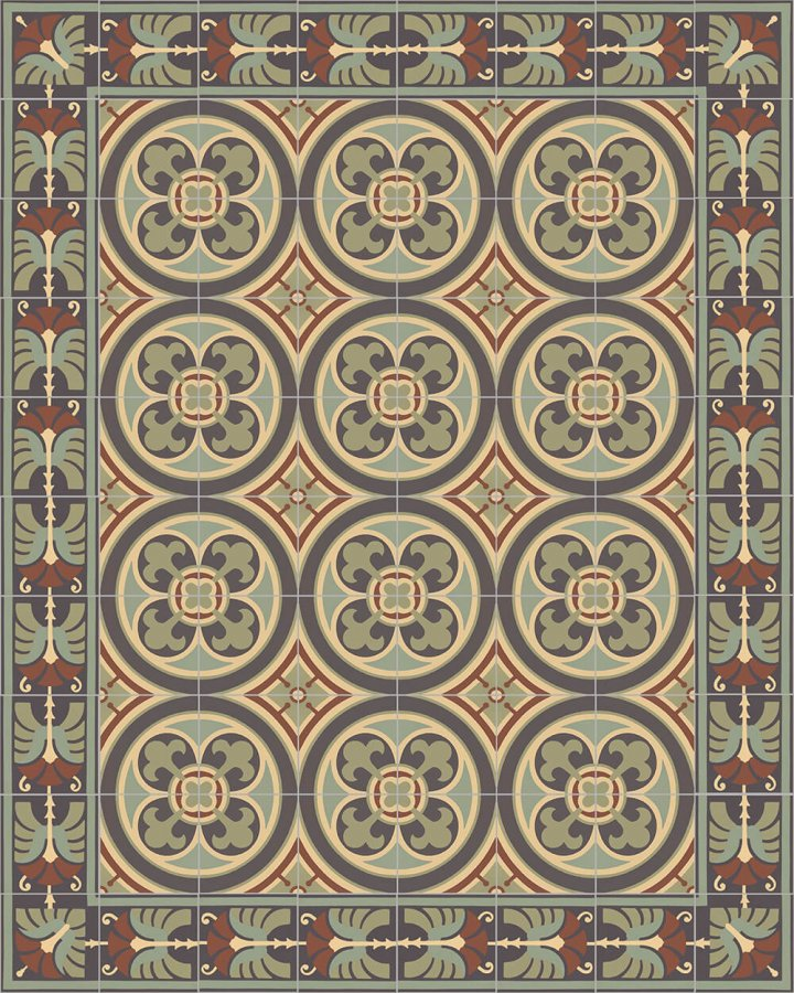 Floor tiles Floor Tiles multi-coloured Layouts and patterns SF 562 J e