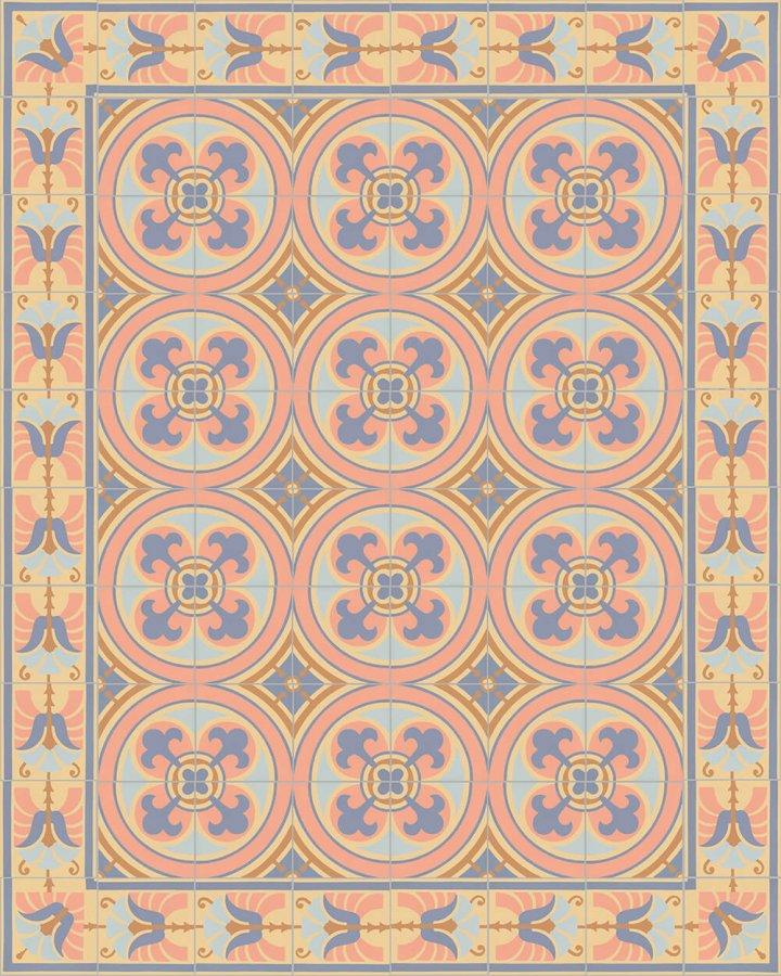 Floor tiles Floor Tiles multi-coloured Layouts and patterns SF 562 N