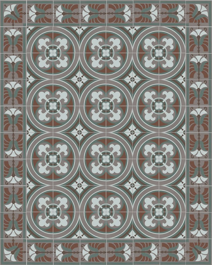 Floor tiles Floor Tiles multi-coloured Layouts and patterns SF 562 R e