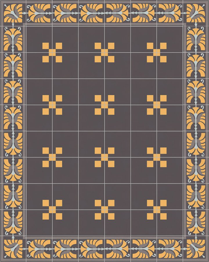 Floor tiles Floor Tiles multi-coloured Layouts and patterns SF 562 H e