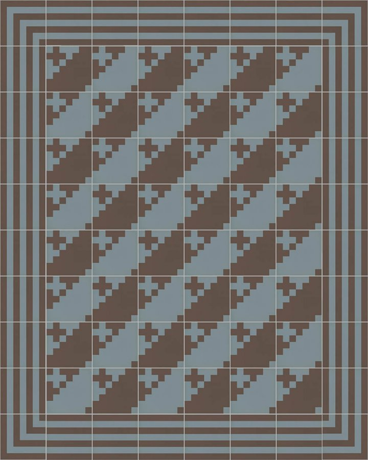 Floor tiles Floor Tiles multi-coloured Layouts and patterns SFTG 7202 A e