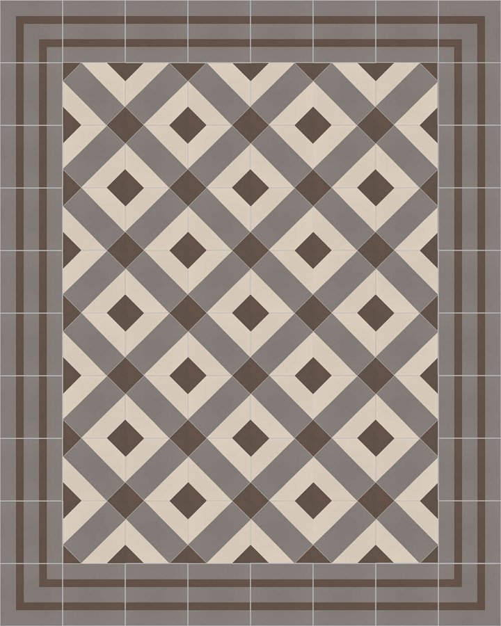 Floor tiles Floor Tiles multi-coloured Layouts and patterns SFTG 8202 E e