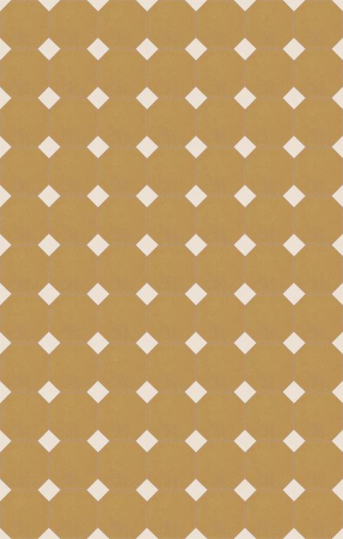 Bodenfliesen Achteckfliesen Verlegebeispiel SF 82A.12s