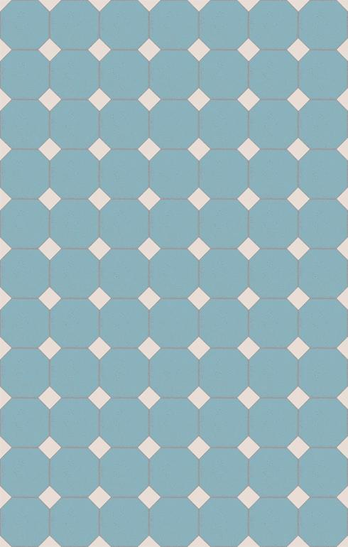Floor tiles Stoneware octagonal Verlegebeispiel SF 82A.14s