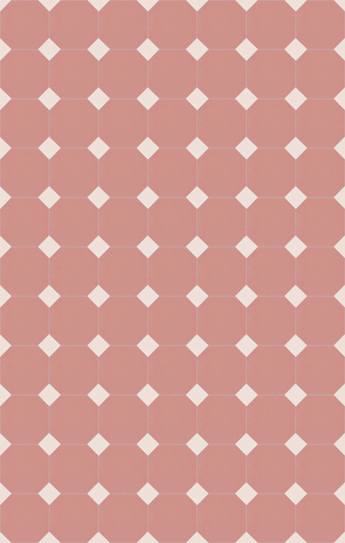 Bodenfliesen Achteckfliesen Verlegebeispiel SF 82A.16