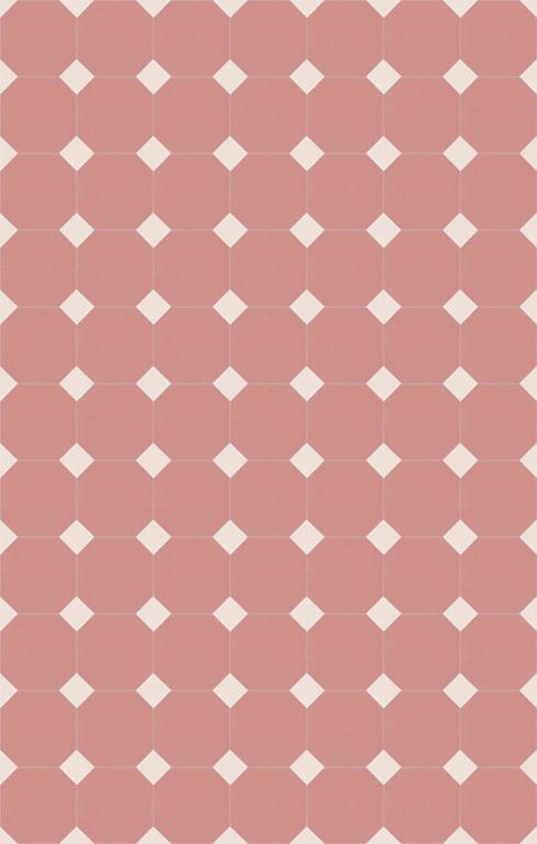 Floor tiles Stoneware octagonal Verlegebeispiel SF 82A.16