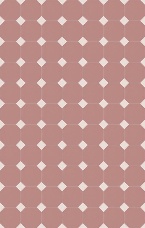 Bodenfliesen Achteckfliesen Verlegebeispiel SF 82A.17