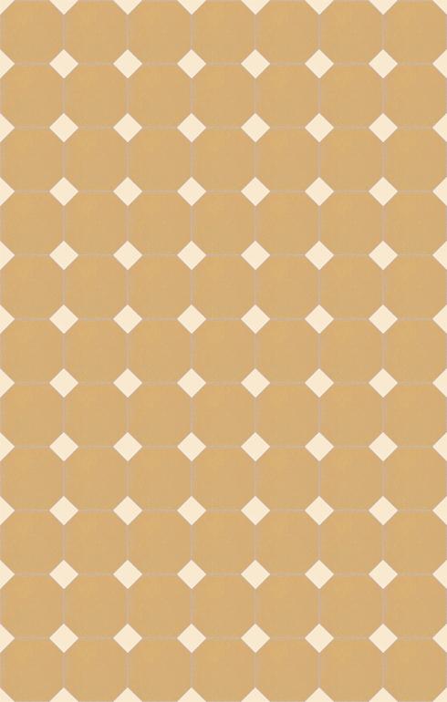 Carreaux pour sol Carreaux octogonal Verlegebeispiel SF 82A.19s
