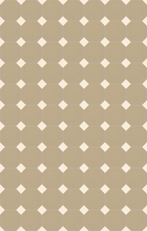 Floor tiles Stoneware octagonal Verlegebeispiel SF 82A.20s