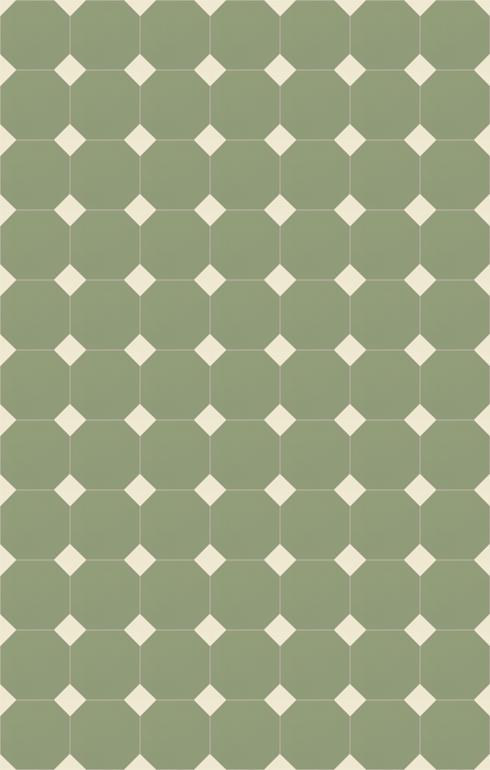 Floor tiles Stoneware octagonal Verlegebeispiel SF 82A.22s