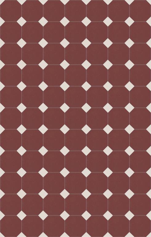 Bodenfliesen Achteckfliesen Verlegebeispiel SF 82A.25s