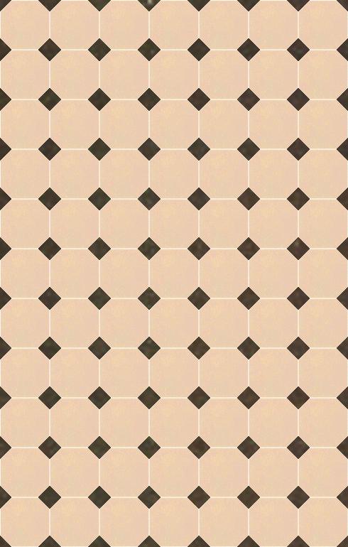 Floor tiles Stoneware octagonal Verlegebeispiel SF 82A.2