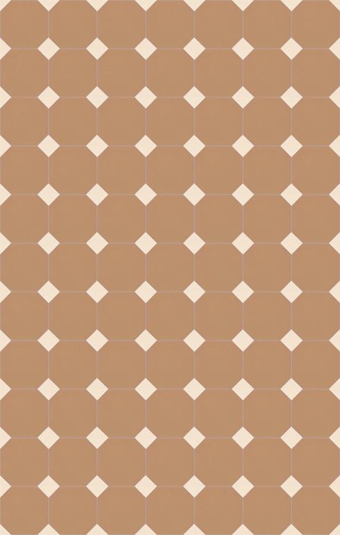 Floor tiles Stoneware octagonal Verlegebeispiel SF 82A.8