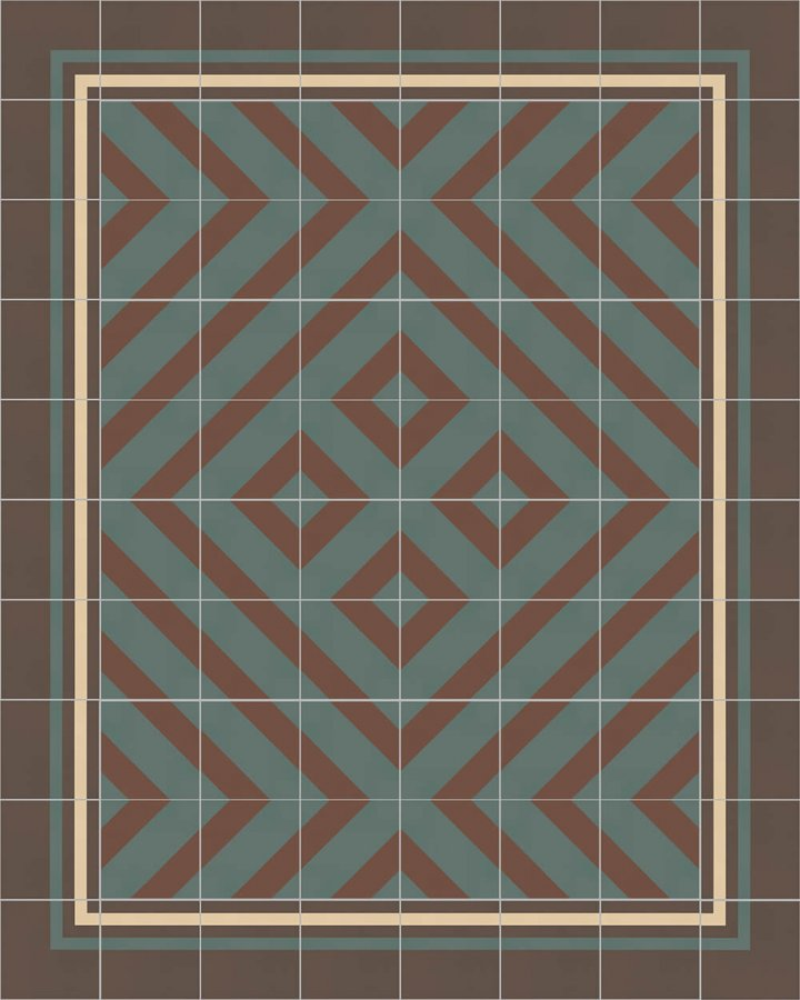 Floor tiles Floor Tiles multi-coloured Layouts and patterns SFTG 8308 B