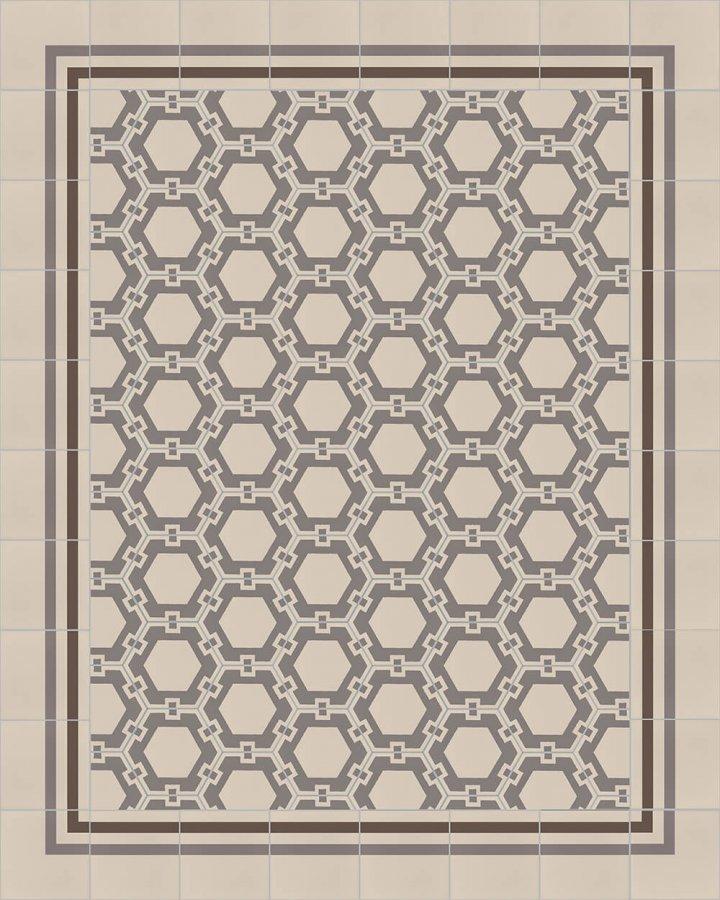 floor tiles hexagonal SF 1721 E a