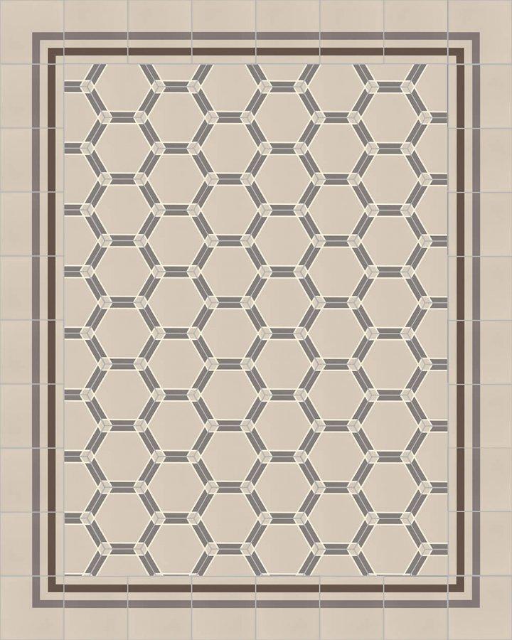 Carreaux hexagonal SF 1731 E