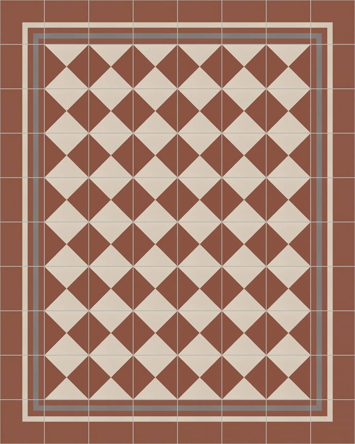 Floor tiles Floor Tiles multi-coloured Layouts and patterns SFTG 8308 F