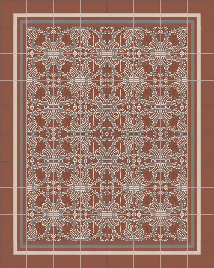 Floor tiles Floor Tiles multi-coloured Layouts and patterns SF 331 F r
