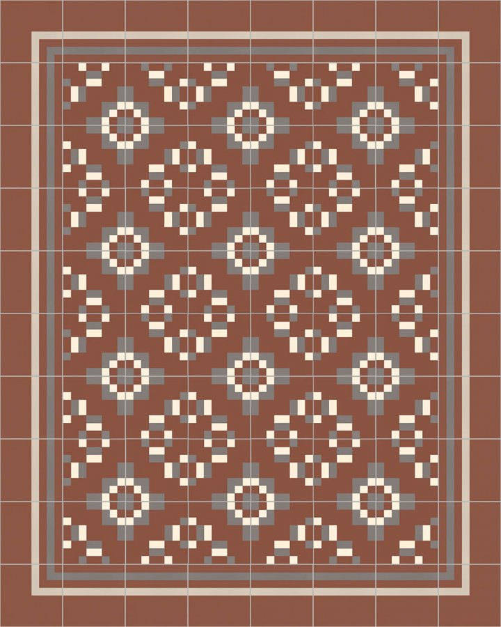 Floor tiles Floor Tiles multi-coloured Layouts and patterns SFTG 8308 F e
