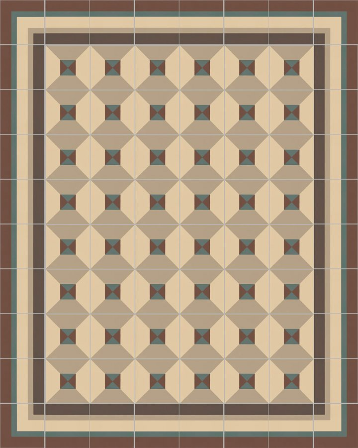 Floor tiles Floor Tiles multi-coloured Layouts and patterns SF 402 B