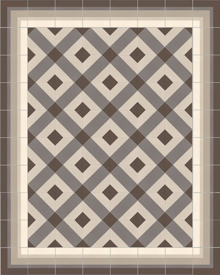 Floor tiles Floor Tiles multi-coloured Layouts and patterns SFTG 8505 E