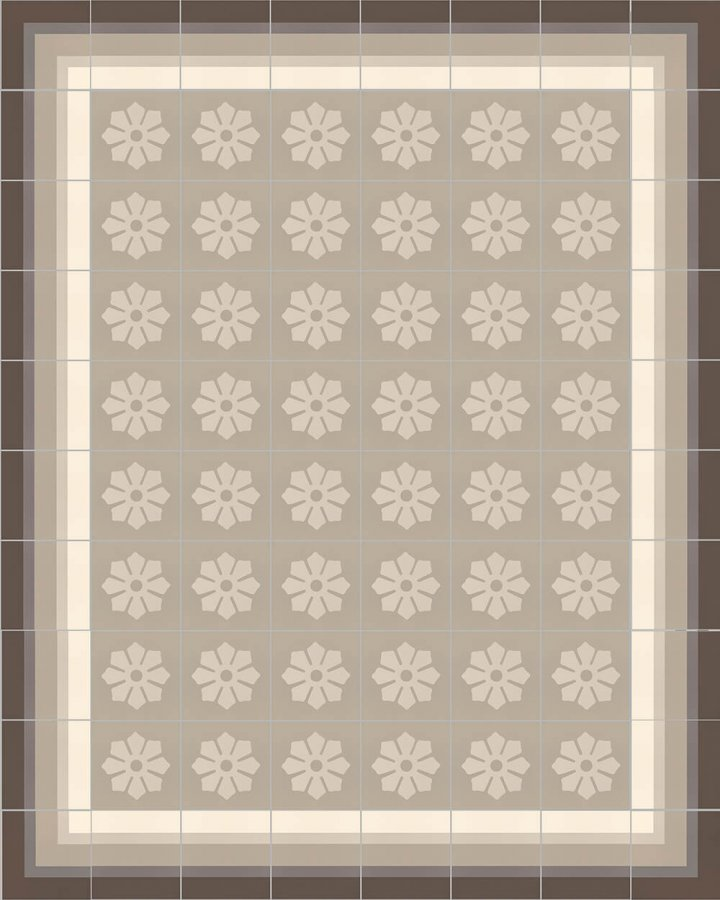 Floor tiles Floor Tiles multi-coloured Layouts and patterns SFTG 8505 E e