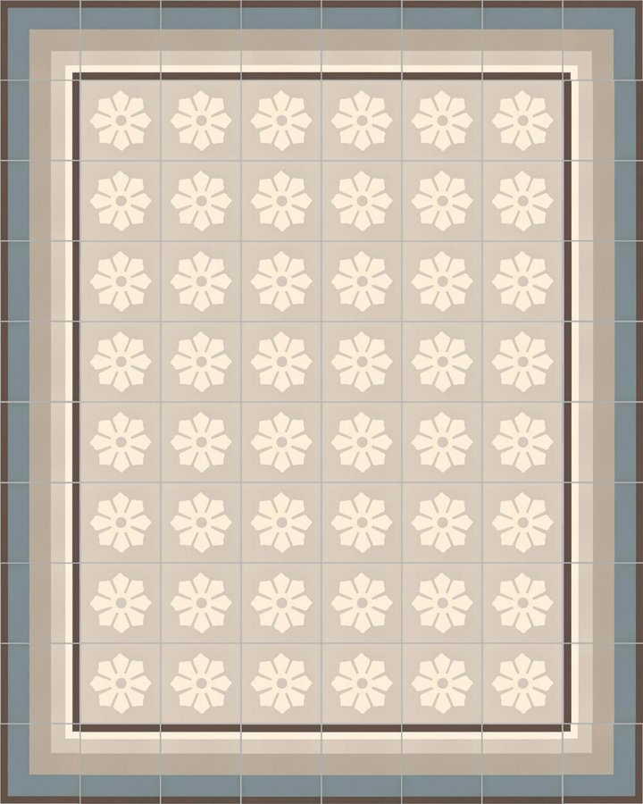 Floor tiles Floor Tiles multi-coloured Layouts and patterns SFTG 11503 A e