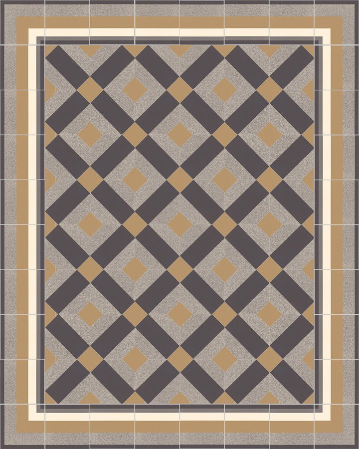 Floor tiles Floor Tiles multi-coloured Layouts and patterns SFTG 11503 C