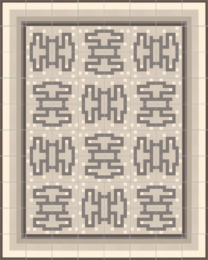 Floor tiles Floor Tiles multi-coloured Layouts and patterns SFTG 11503 E e