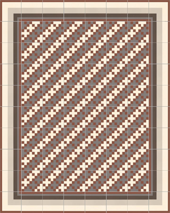 Floor tiles Floor Tiles multi-coloured Layouts and patterns SFTG 11503 F e