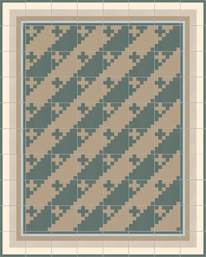 Floor tiles Floor Tiles multi-coloured Layouts and patterns SFTG 7201 G b