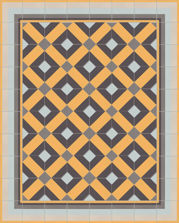 Floor tiles Floor Tiles multi-coloured Layouts and patterns SFTG 11503 H