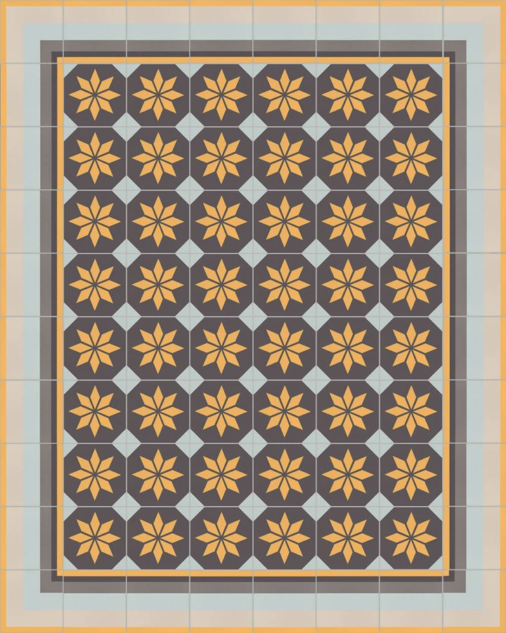 Floor tiles Floor Tiles multi-coloured Layouts and patterns SFTG 11503 H e