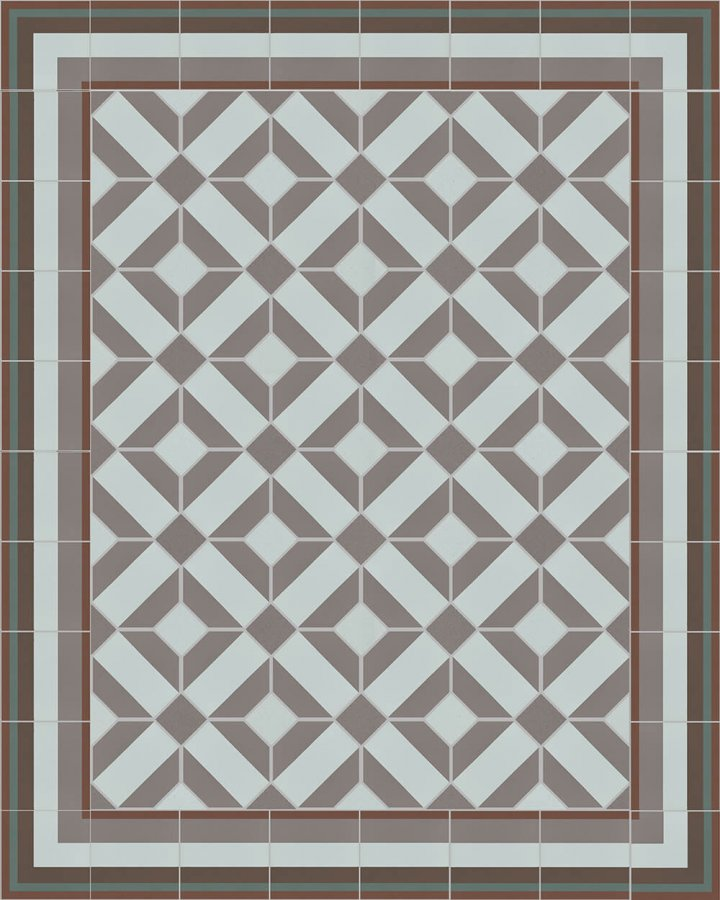 Floor tiles Floor Tiles multi-coloured Layouts and patterns SFTG 11503 R