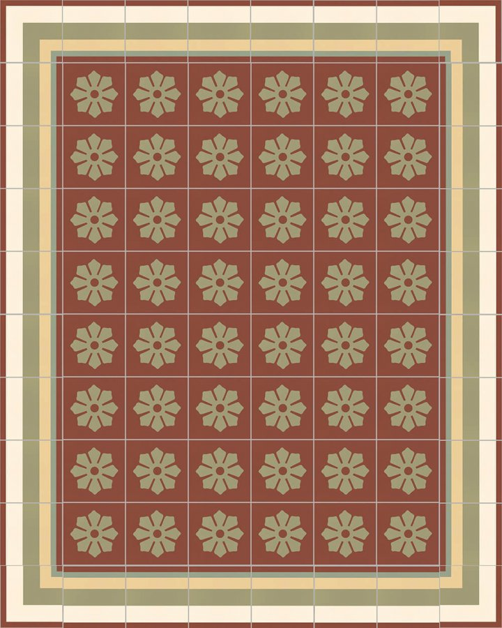 Floor tiles Floor Tiles multi-coloured Layouts and patterns SF 244 I