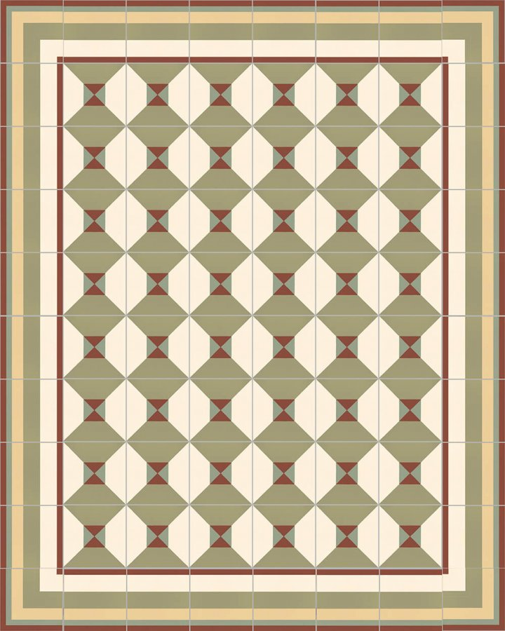 Floor tiles Floor Tiles multi-coloured Layouts and patterns SFTG 11503 I