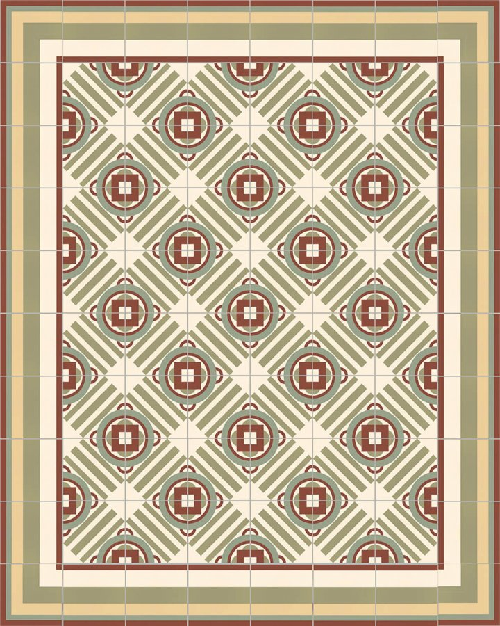Floor tiles Floor Tiles multi-coloured Layouts and patterns SFTG 11503 I e