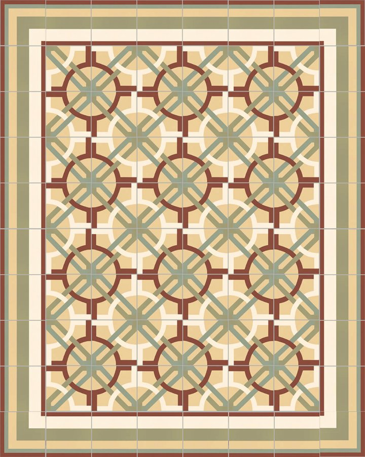 Floor tiles Floor Tiles multi-coloured Layouts and patterns SF 566 I