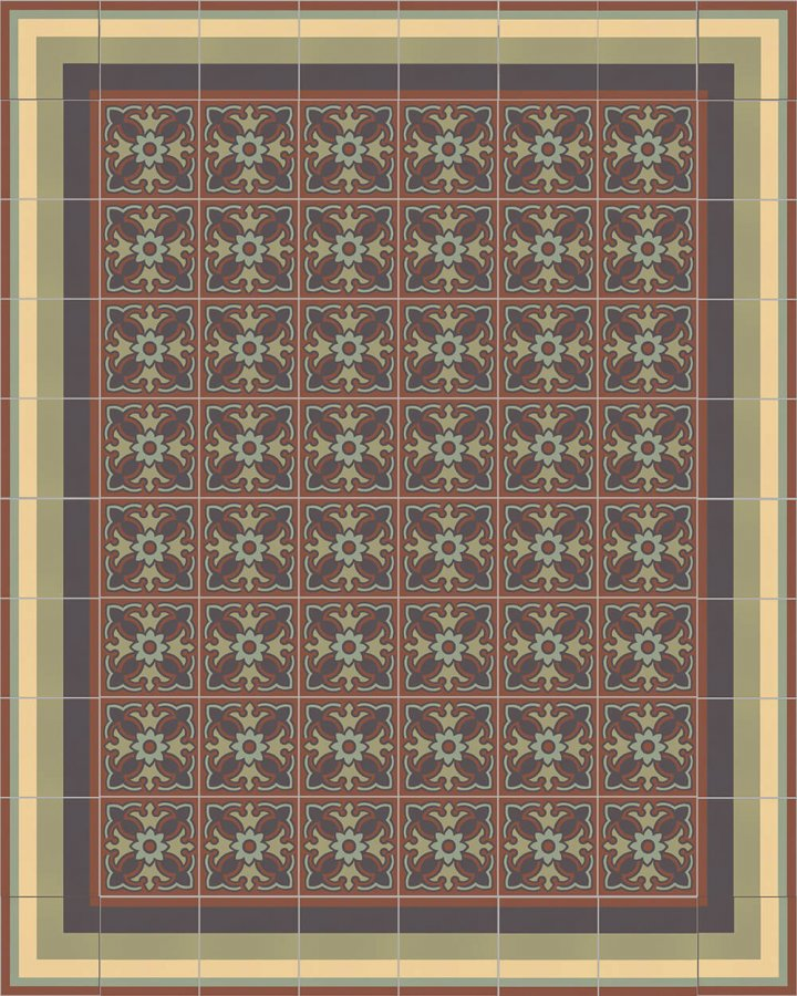Floor tiles Floor Tiles multi-coloured Layouts and patterns SF 420 J