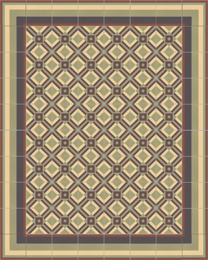 Floor tiles Floor Tiles multi-coloured Layouts and patterns SF 559 J