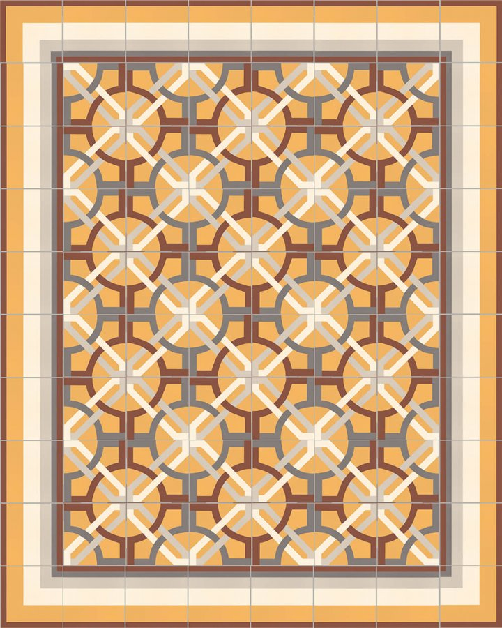 Floor tiles Floor Tiles multi-coloured Layouts and patterns SF 566 K