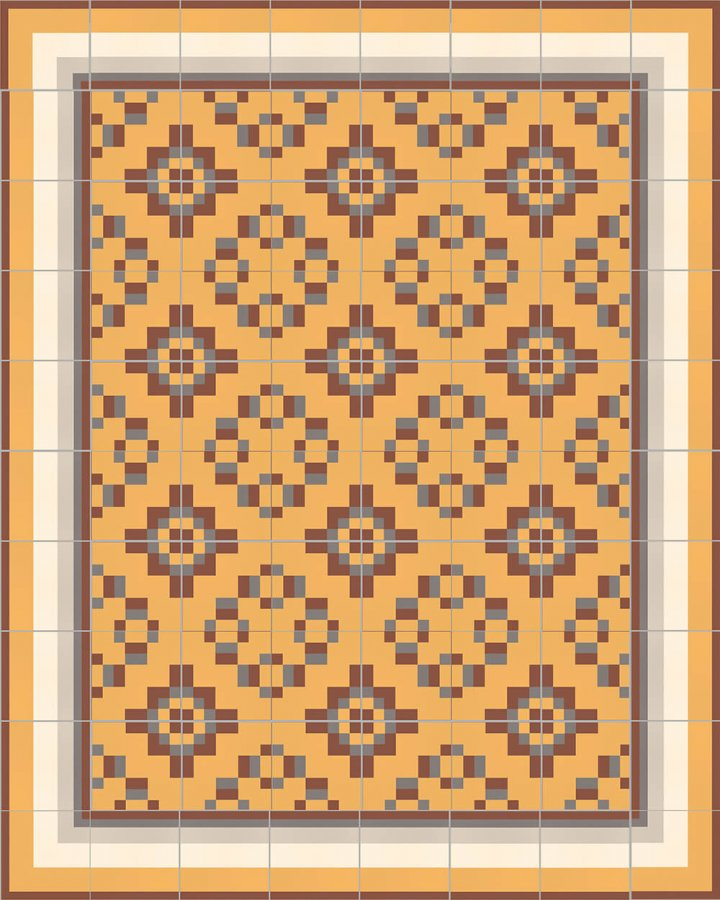 Floor tiles Floor Tiles multi-coloured Layouts and patterns SFTG 11503 K