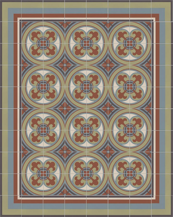 Floor tiles Floor Tiles multi-coloured Layouts and patterns SFTG 11503 L e