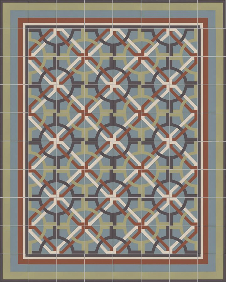 Floor tiles Floor Tiles multi-coloured Layouts and patterns SFTG 11503 L